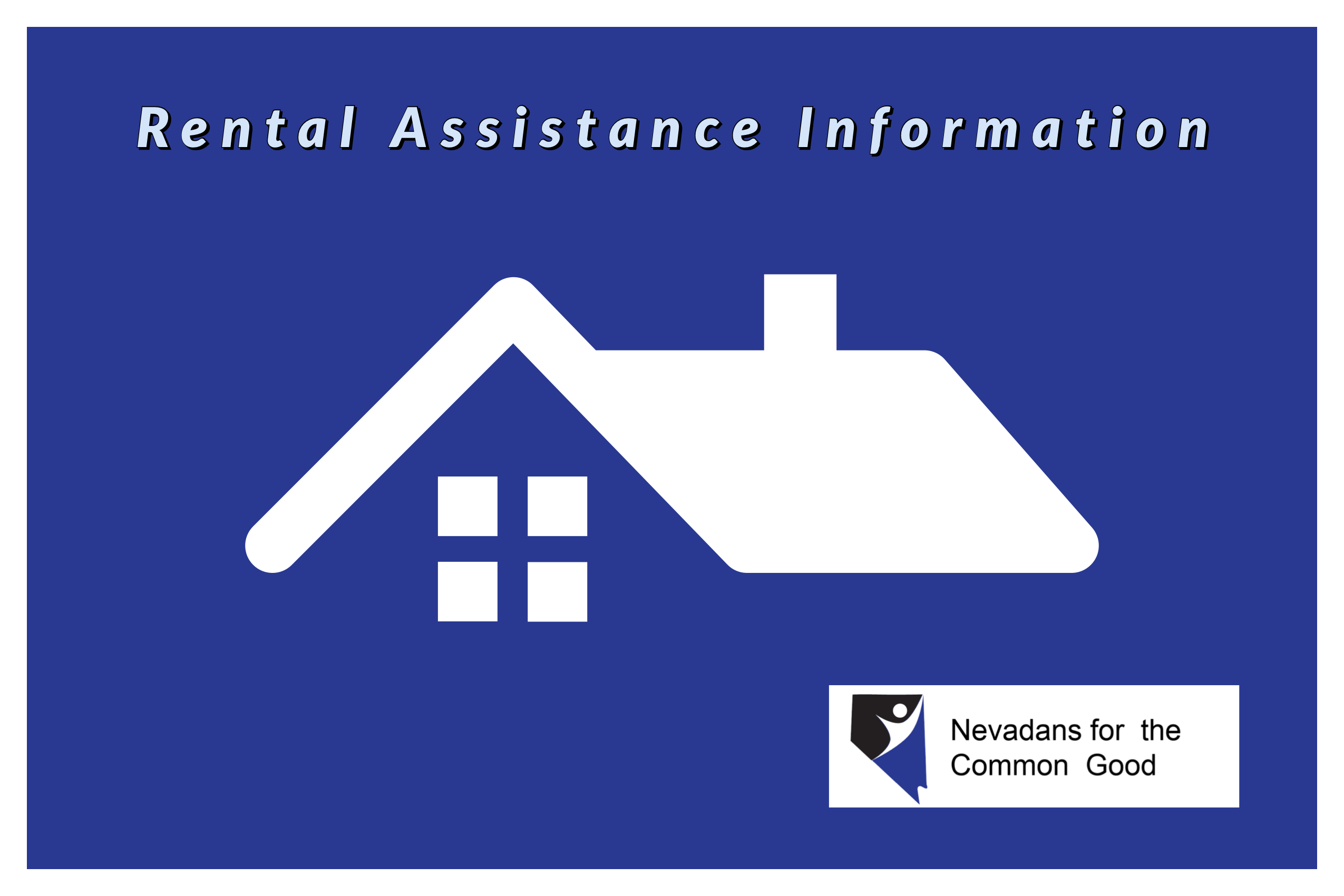 Rental Assistance to those in Need from Nevadans for the Common Good
