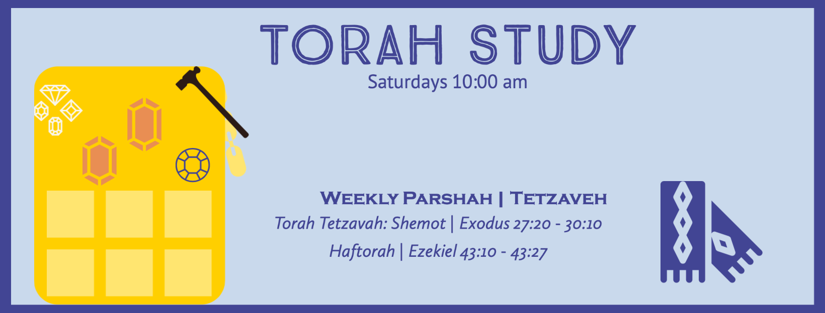 Torah Study with Reb Jamie and Friends!