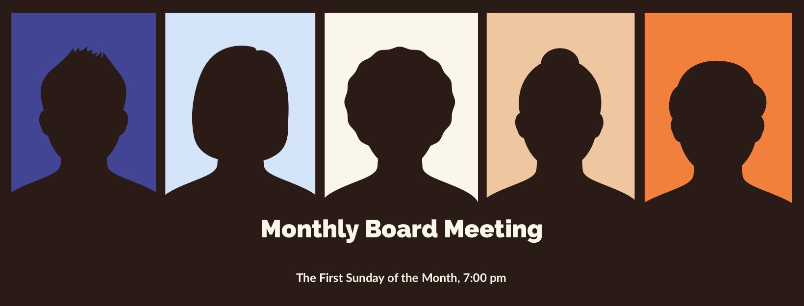 CPT Board Monthly Meetings, First Sunday of the Month, 7am